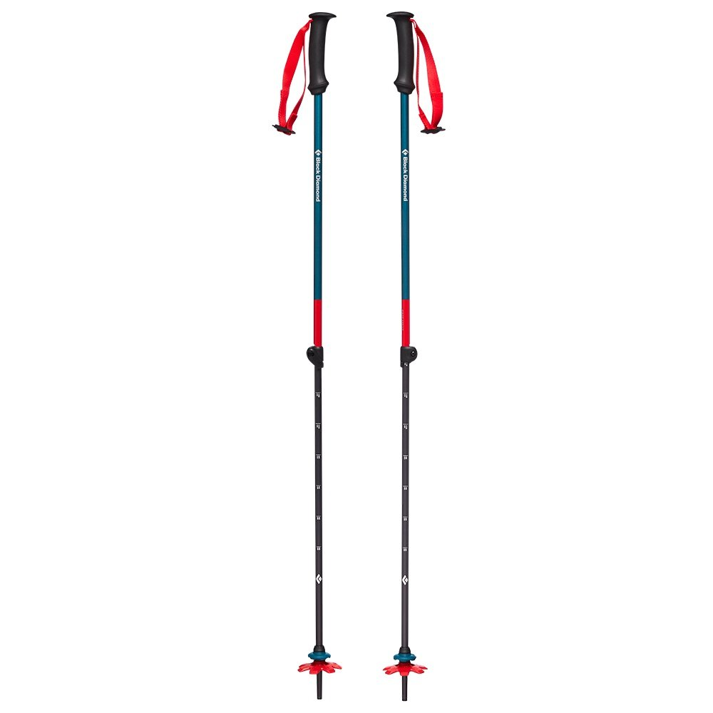 Black Diamond First Strike Trekking Poles (Kids') - Fjord Blue