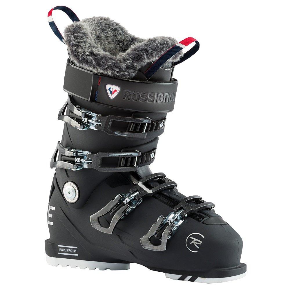 Rossignol Pure Pro 80 Ski Boot (Women's) - Soft Black