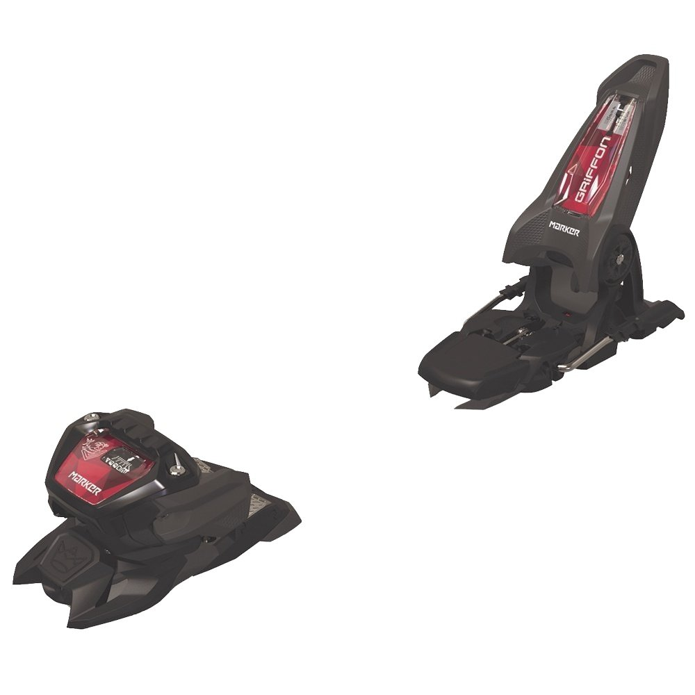 Marker Griffon 13 ID 90 Ski Binding (Adults') - Anthracite/Black/Red