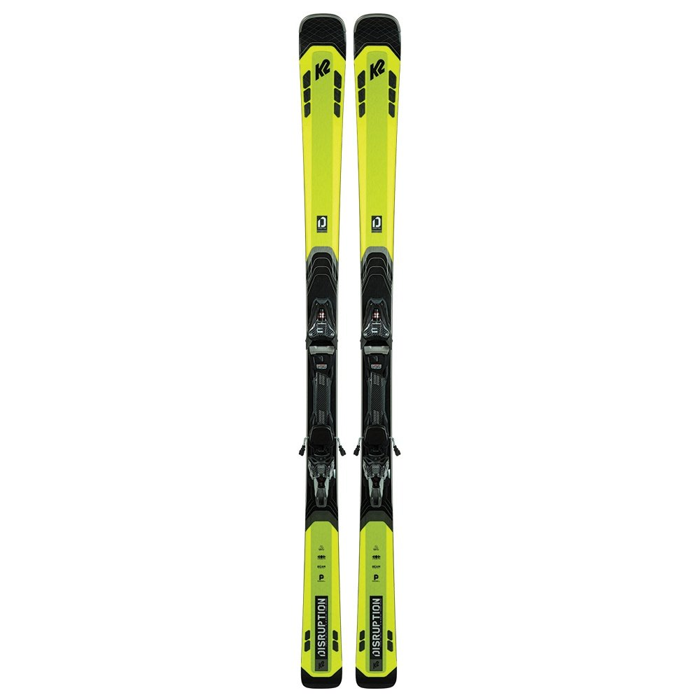 K2 Disruption 82Ti Ski System with MXC 12 TCx Bindings (Men's) -