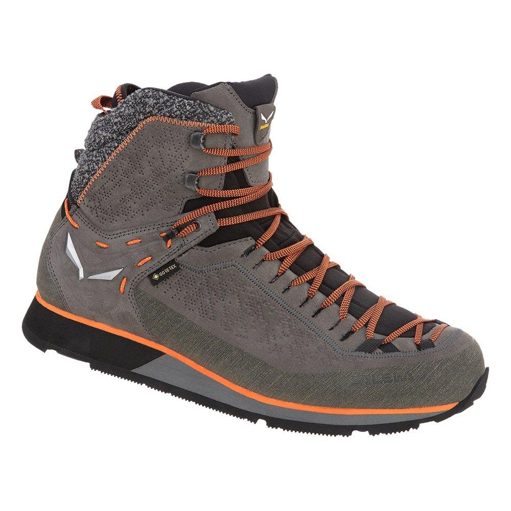 Salewa MS MTN Trainer 2 GORE-TEX® Winter Boot (Men's) - Grey/Fluo Orange