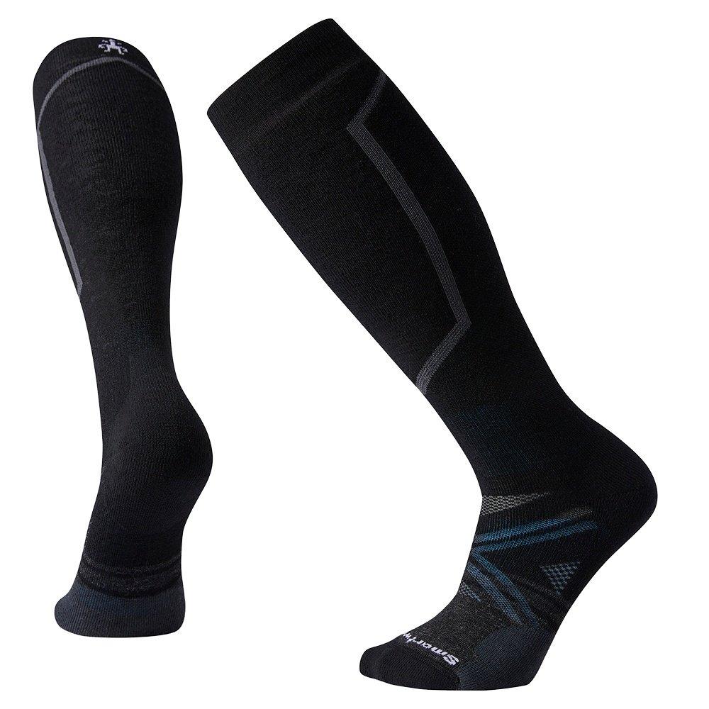 SmartWool PhD Medium Ski Sock (Men's) - Black