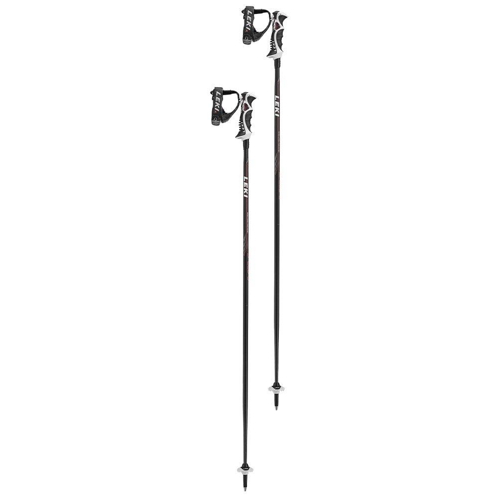 Leki Speed S Ski Pole - Black/Red