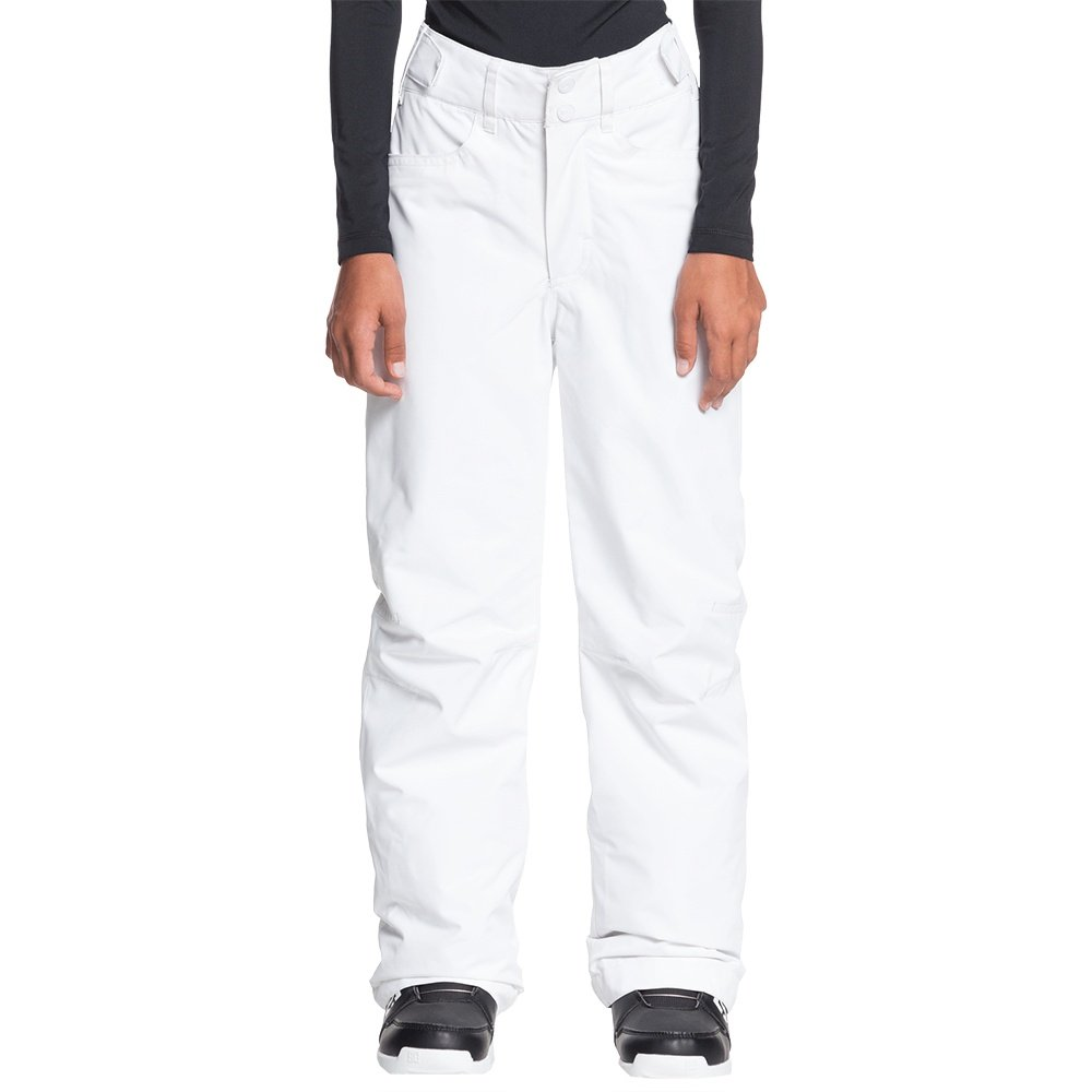 Roxy Backyard Insulated Snowboard Pant (Girls') - Bright White