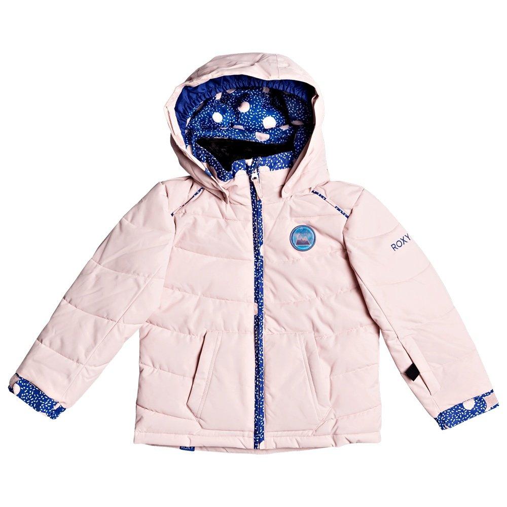 Roxy Anna Insulated Snowboard Jacket (Little Girls') - Powder Pink