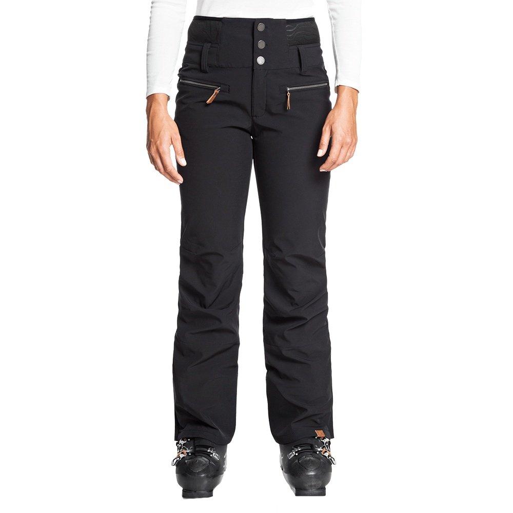 Roxy Rising High Shell Snowboard Pant (Women's) - True Black