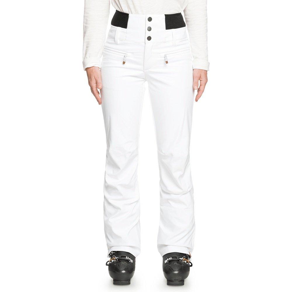 Roxy Rising High Shell Snowboard Pant (Women's) - Bright White