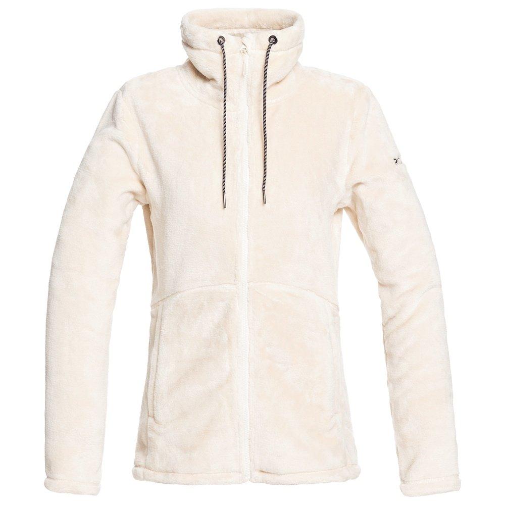 Roxy Tundra Fleece Jacket (Women's) - Angora
