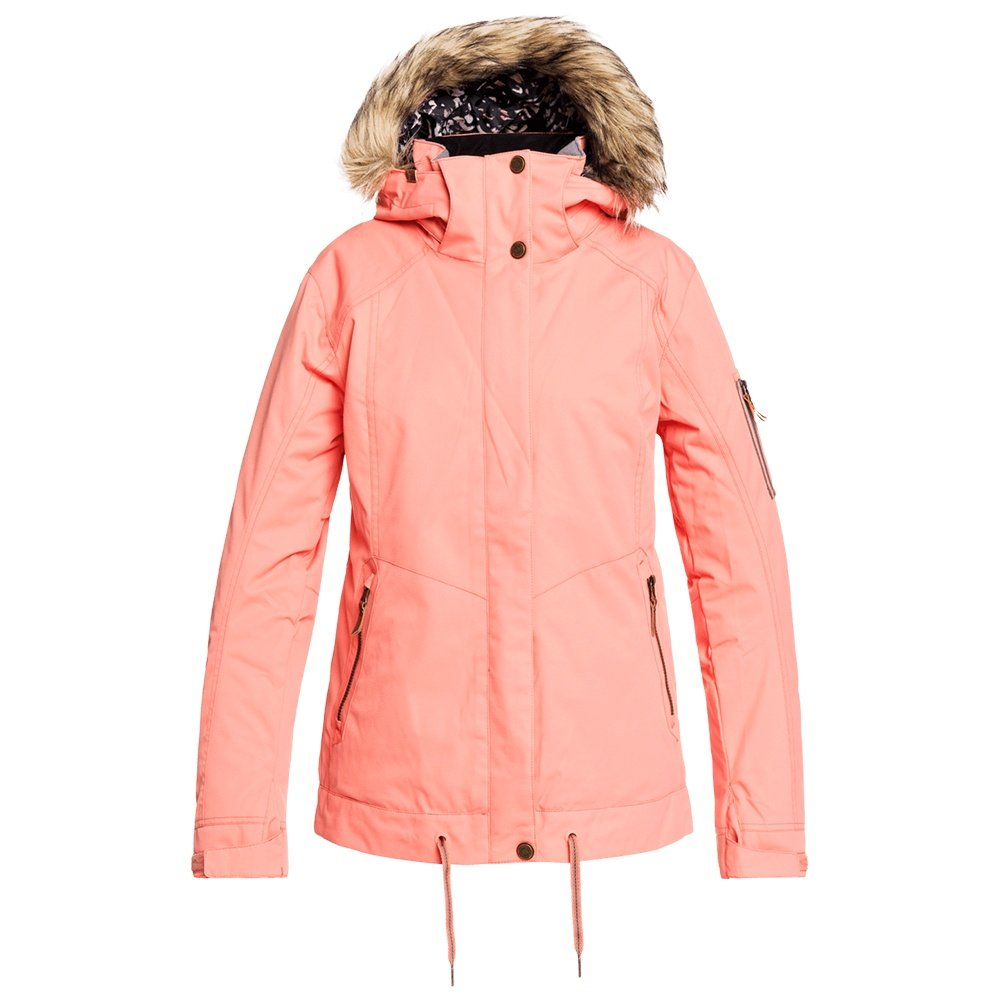 Roxy Meade Insulated Snowboard Jacket (Women's) - Fusion Coral