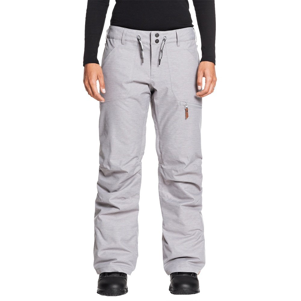 Roxy Nadia Insulated Snowboard Pant (Women's) - Heather Grey