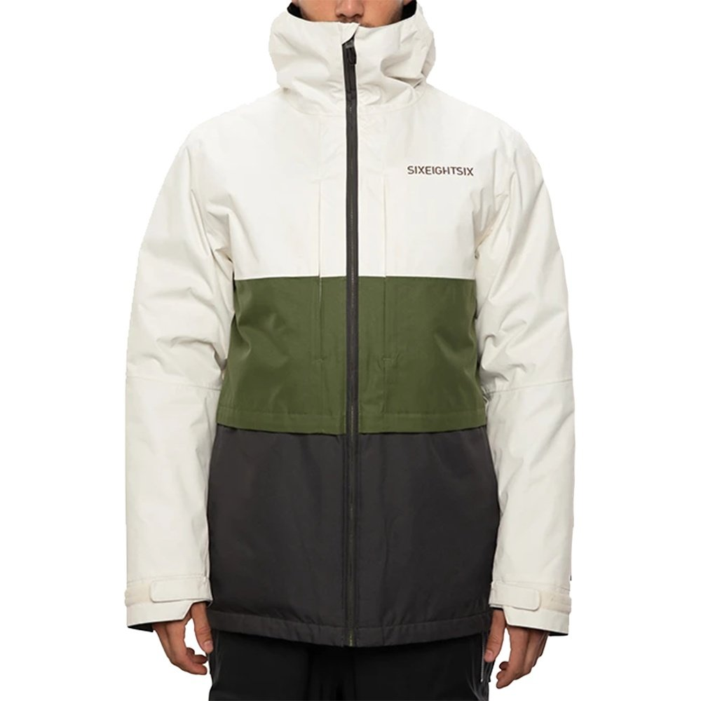 686 Smarty 3-in-1 Form Snowboard Jacket (Men's) - Birch