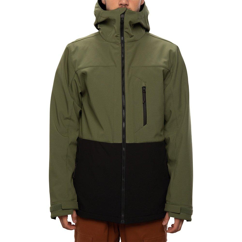 686 Smarty 3-in-1 Phase Softshell Snowboard Jacket (Men's) - Surplus Green
