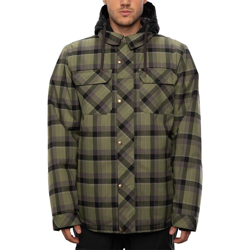 686 Woodland Insulated Snowboard Jacket (Men's) - Surplus Green