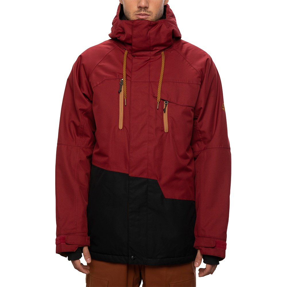 686 Geo Insulated Snowboard Jacket (Men's) - Oxblood