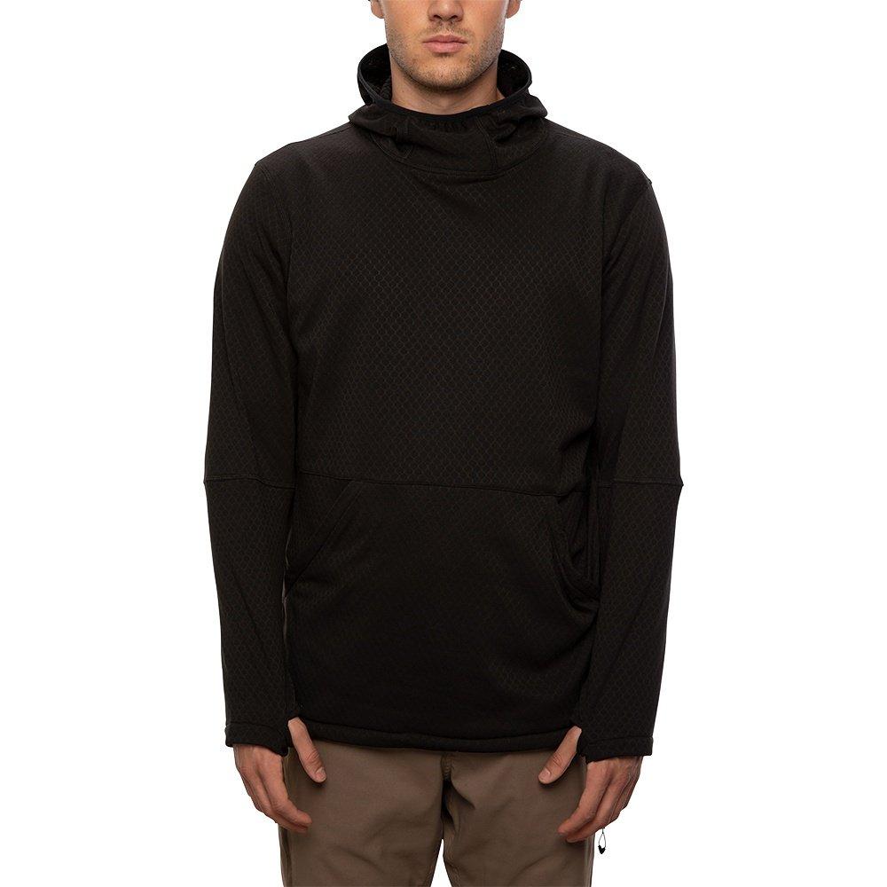 686 Mission Grid Fleece Hoody (Men's) - Black