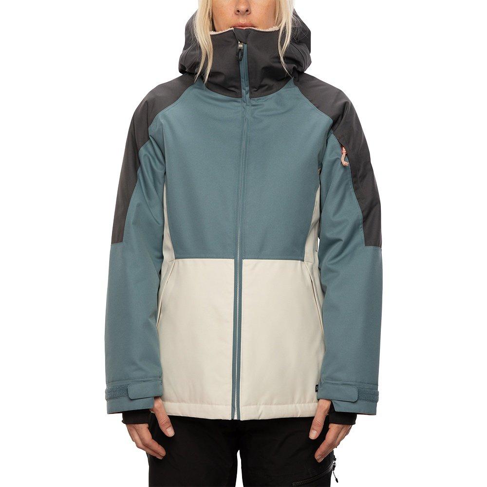 686 Lightbeam Insulated Snowboard Jacket (Women's) - Goblin Blue