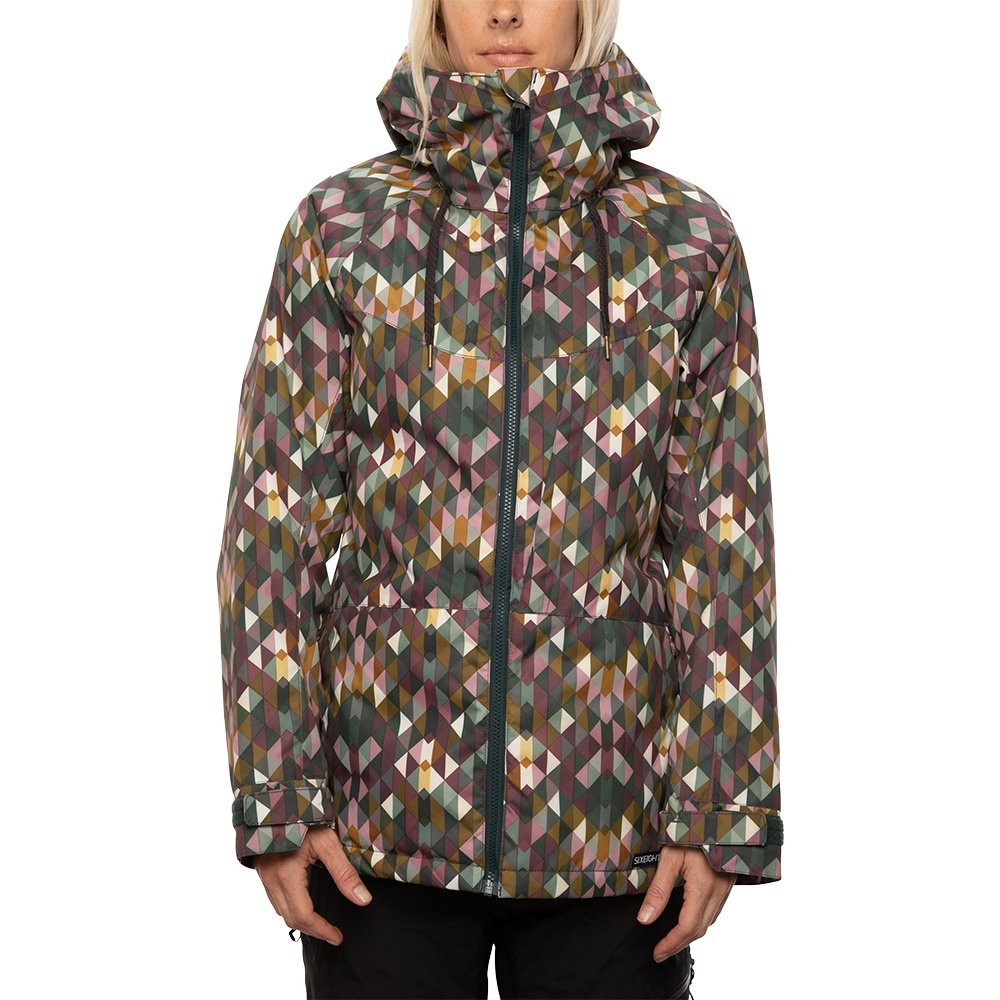 686 Athena Insulated Snowboard Jacket (Women's) - Plum Kaleidoscope