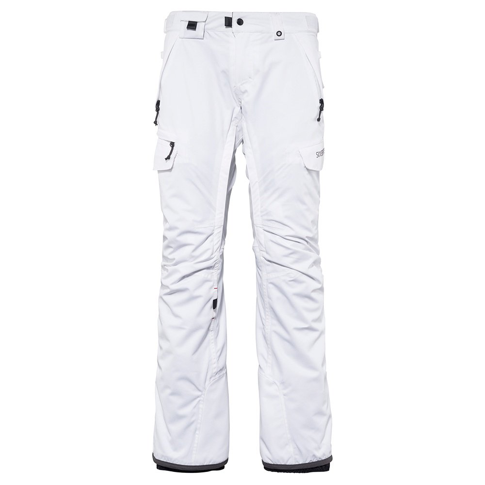 686 Smarty 3-in-1 Cargo Snowboard Pant (Women's) - White