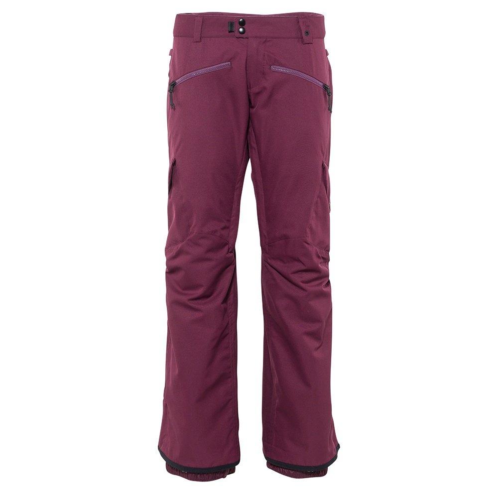 686 Mistress Insulated Cargo Snowboard Pant (Women's) - Plum