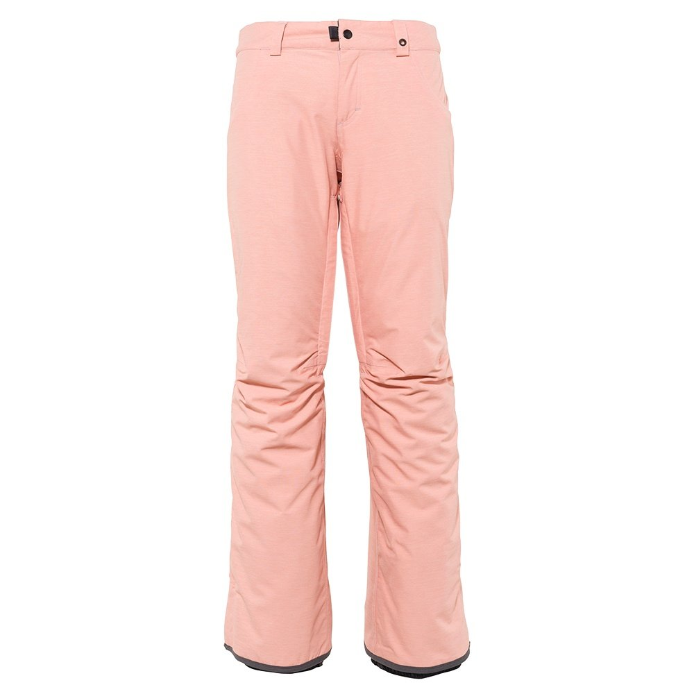 686 Mid-Rise Insulated Snowboard Pant (Women's) - Coral Pink Heather