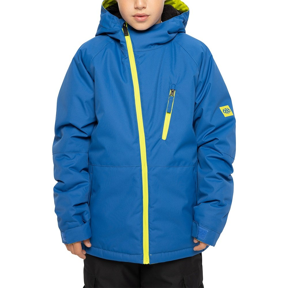 686 Hydra Insulated Snowboard Jacket (Boys') - Primary Blue