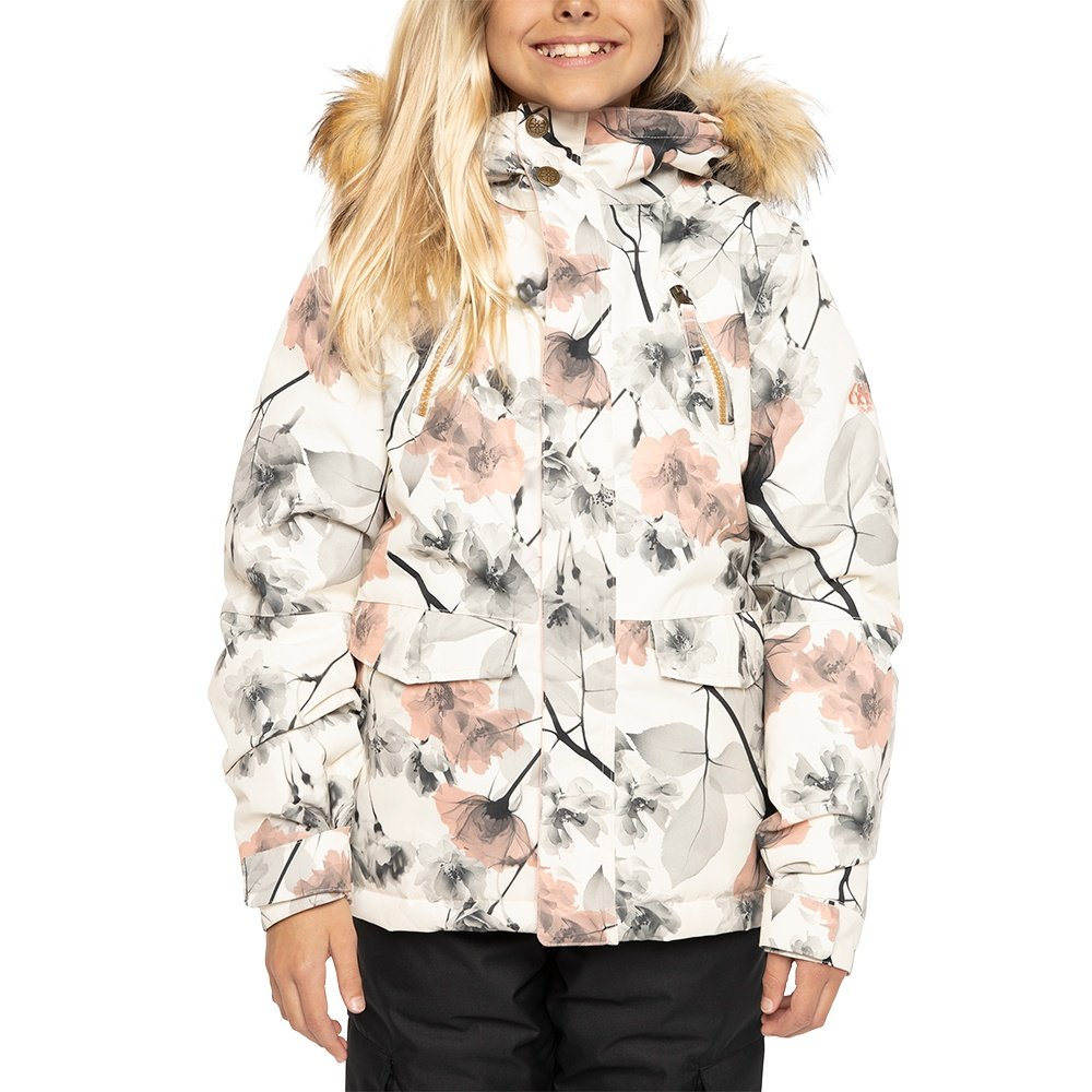 686 Ceremony Insulated Snowboard Jacket (Girls') - Birch