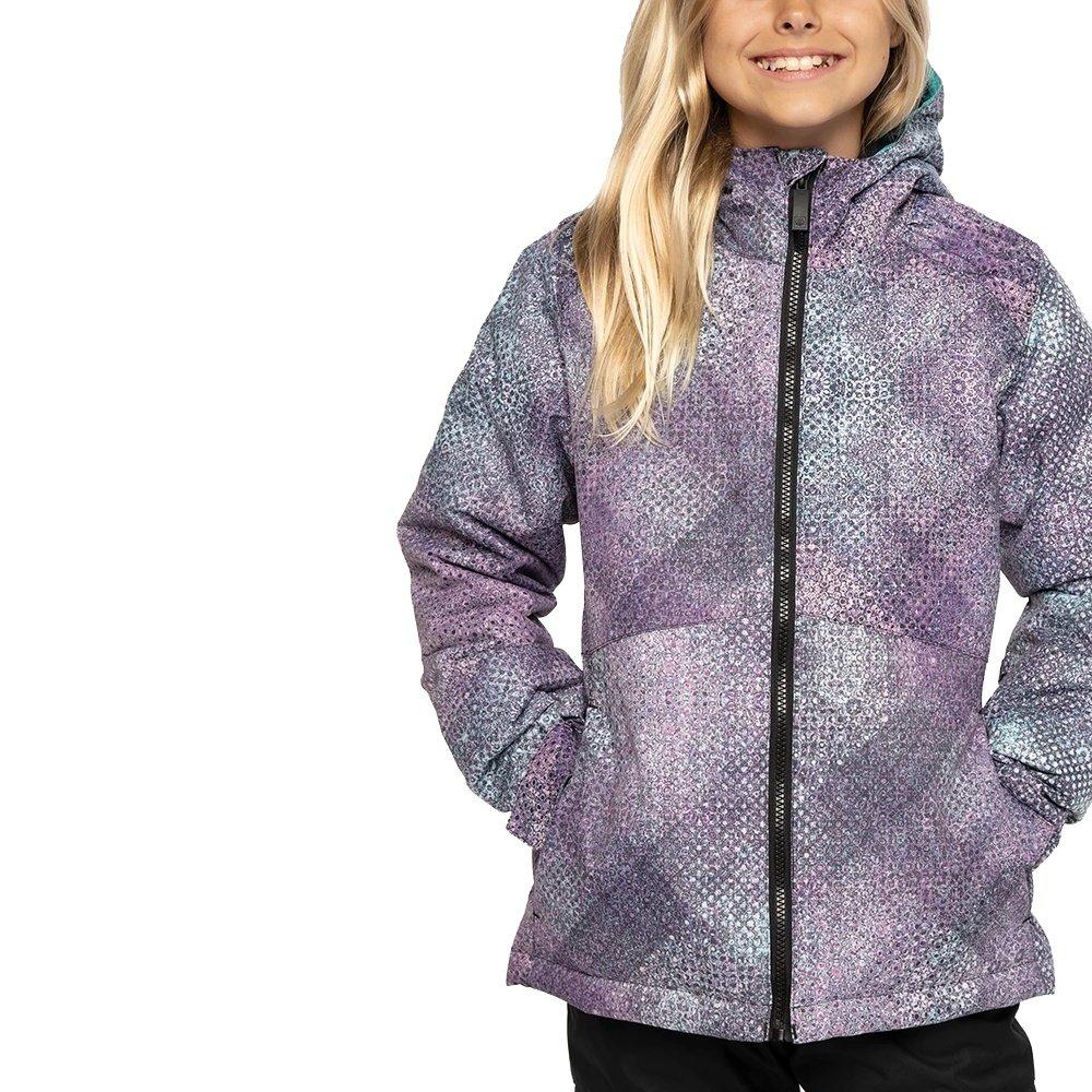 686 Aeon Insulated Snowboard Jacket (Girls') - Teal Boho