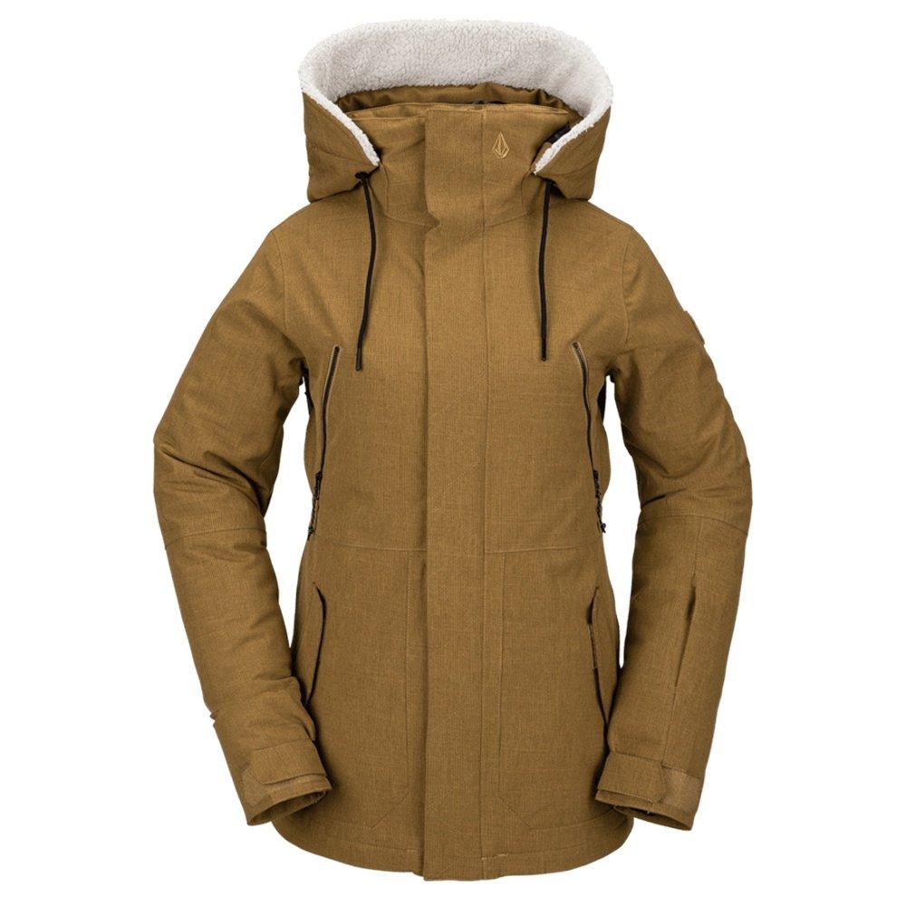 Volcom Shrine Insulated Snowboard Jacket (Women's) - Burnt Khaki