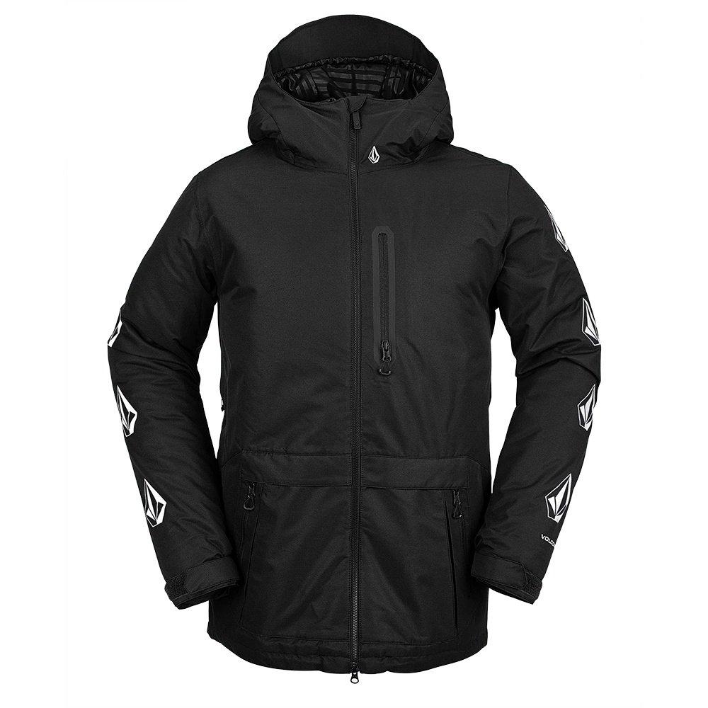 Volcom Deadlystones Insulated Snowboard Jacket (Men's) - Black