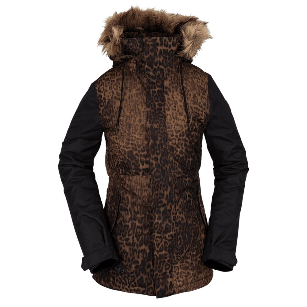 Volcom Fawn Insulated Snowboard Jacket (Women's) - Black Combo