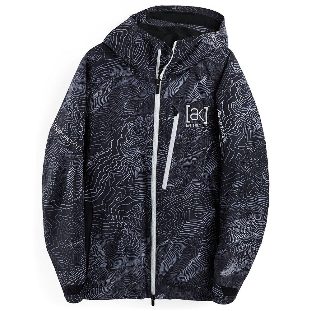 Burton AK Cyclic GORE-TEX Shell Snowboard Jacket (Men's) - Black Mansfield Topo