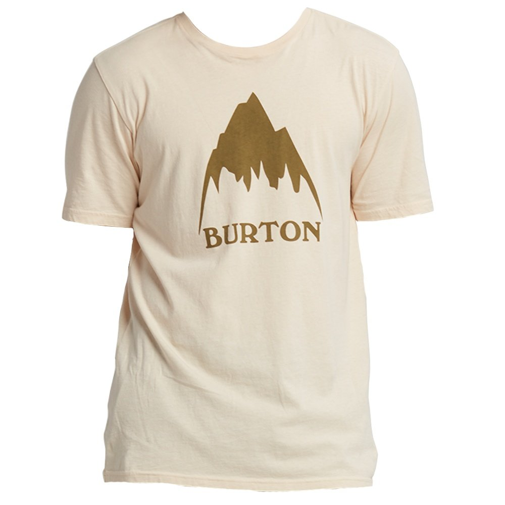 Burton Classic Mountain High Short Sleeve Shirt (Men's) - Creme Brulee