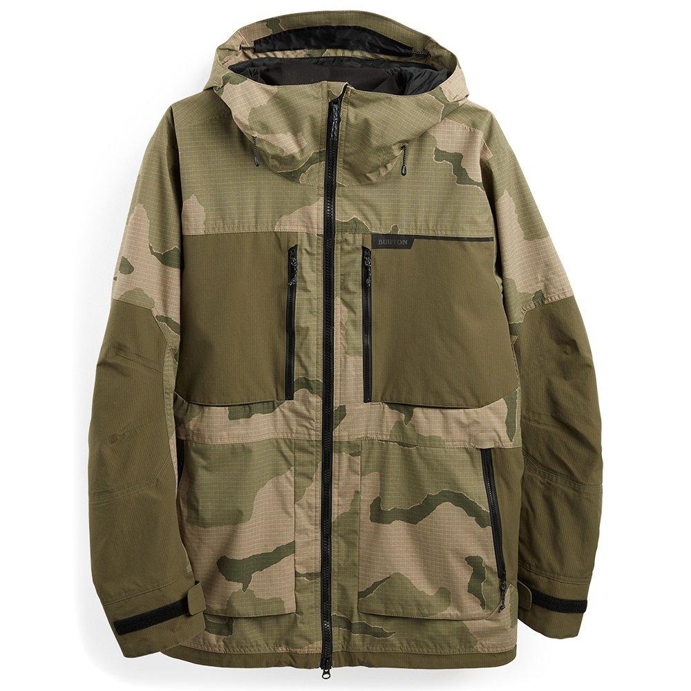 Burton Frostner Shell Snowboard Jacket (Men's) - Barren Camo/Keef