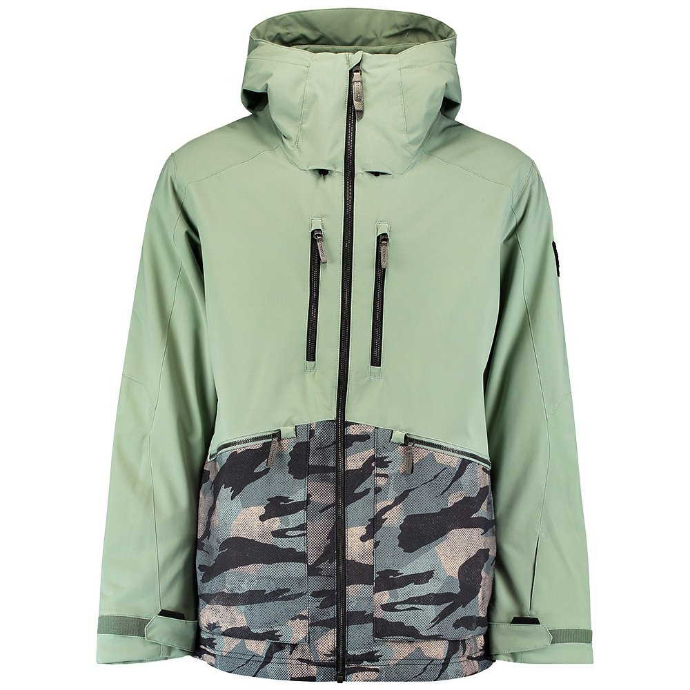 O'Neill Texture Insulated Snowboard Jacket (Men's) - Lily Pad