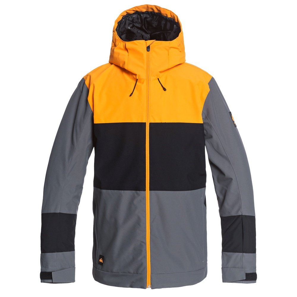 Quiksilver Sycamore Insulated Snowboard Jacket (Men's) - Iron Gate