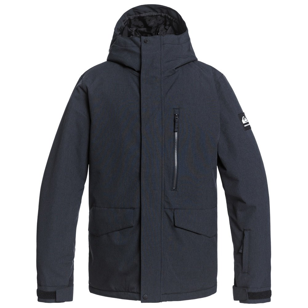 Quiksilver Mission Solid Insulated Snowboard Jacket (Men's) - Black