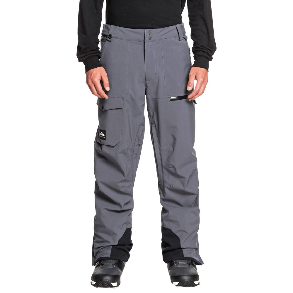 Quicksilver Utility Stretch Shell Snowboard Pant (Men's) - Iron Gate