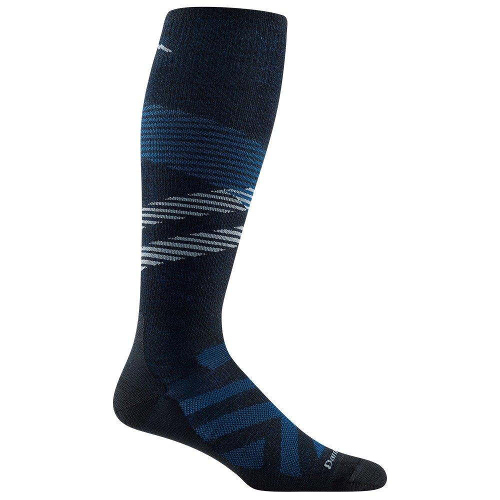 Darn Tough Pennant Ski Sock (Men's) - Black