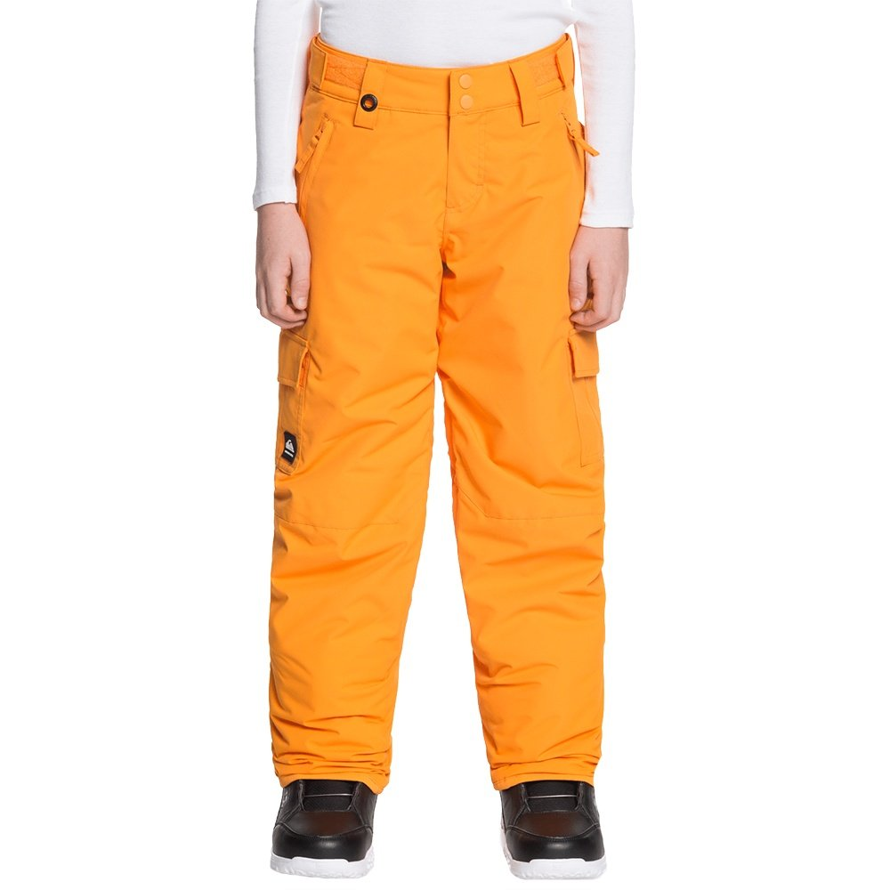 Quiksilver Porter Insulated Snowboard Pant (Boys') - Flame Orange