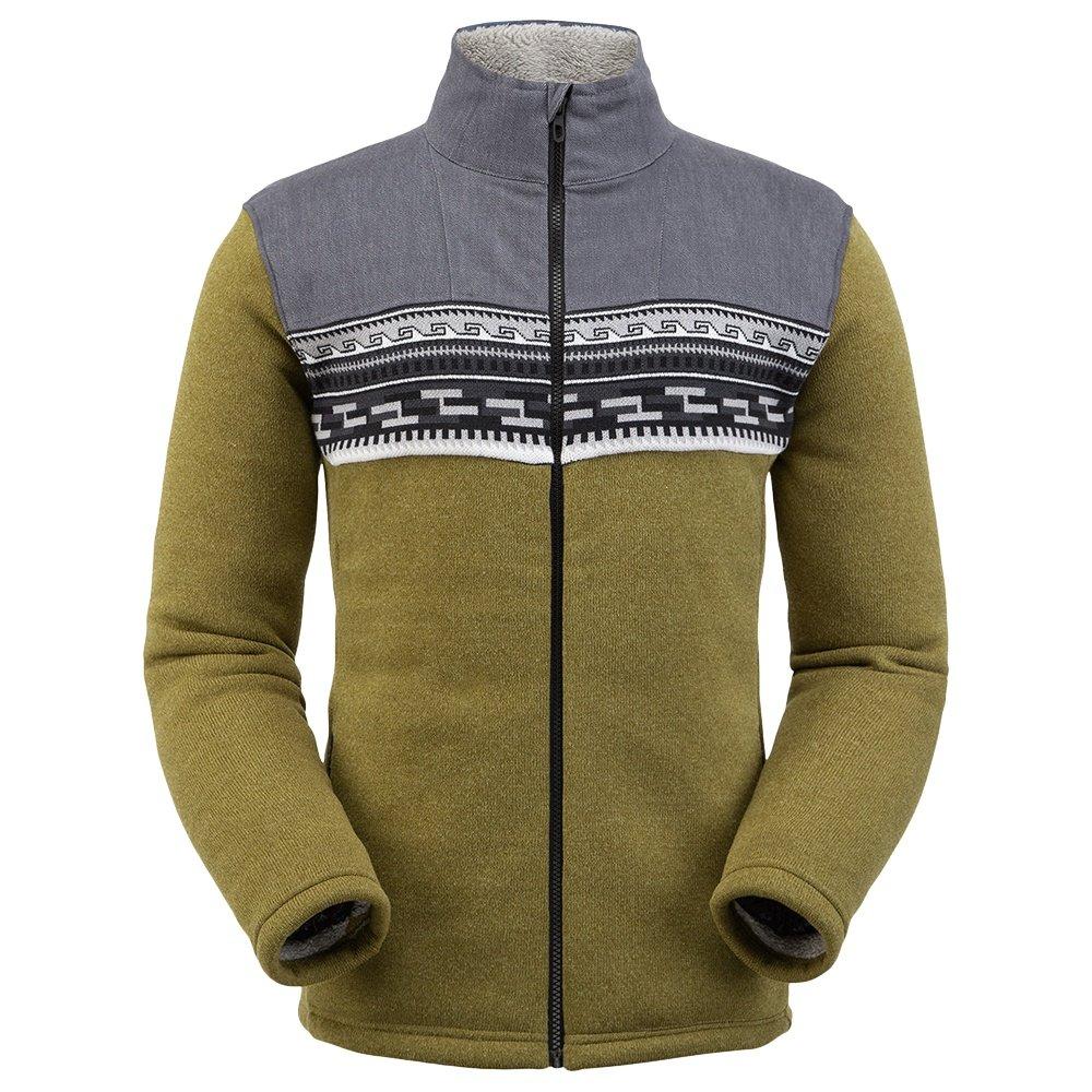 Spyder Wyre Full Zip Fleece Jacket (Men's) - Sarge