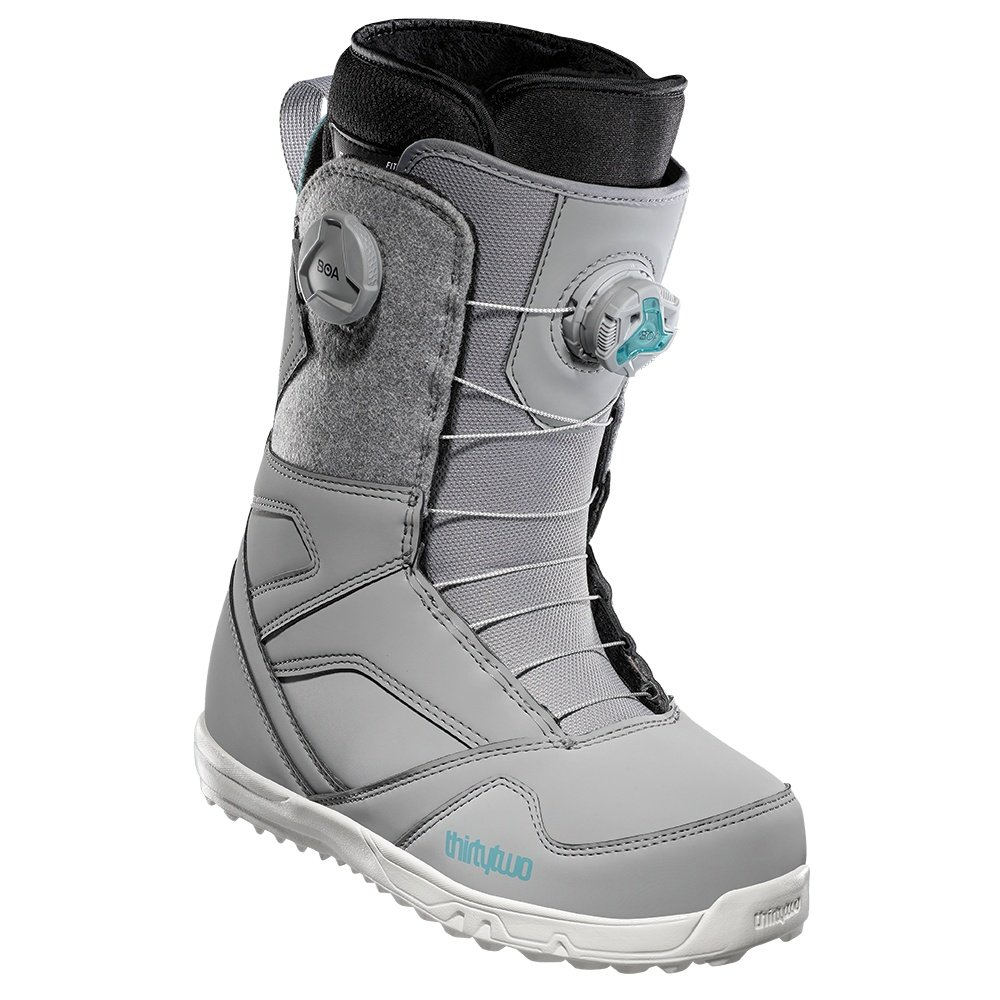 ThirtyTwo STW Double Boa Snowboard Boots (Women's) - Grey
