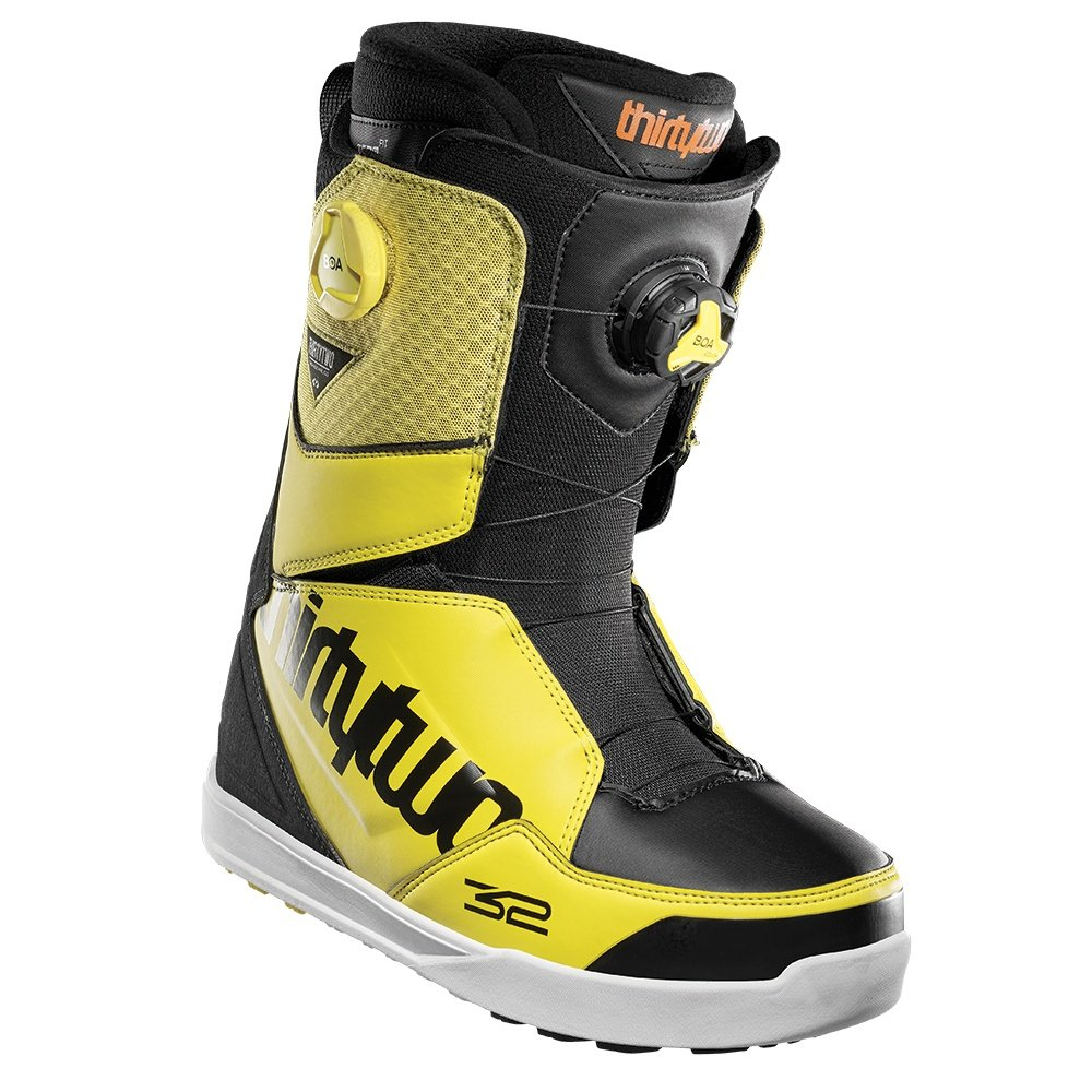 ThirtyTwo Lashed Double Boa Snowboard Boots (Men's) - Black/Yellow