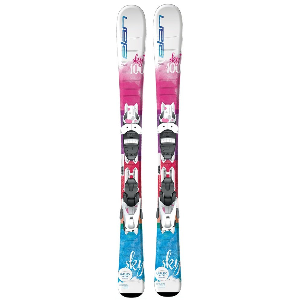 Elan Sky QS Ski System with EL 7.5 Bindings (Girls') -