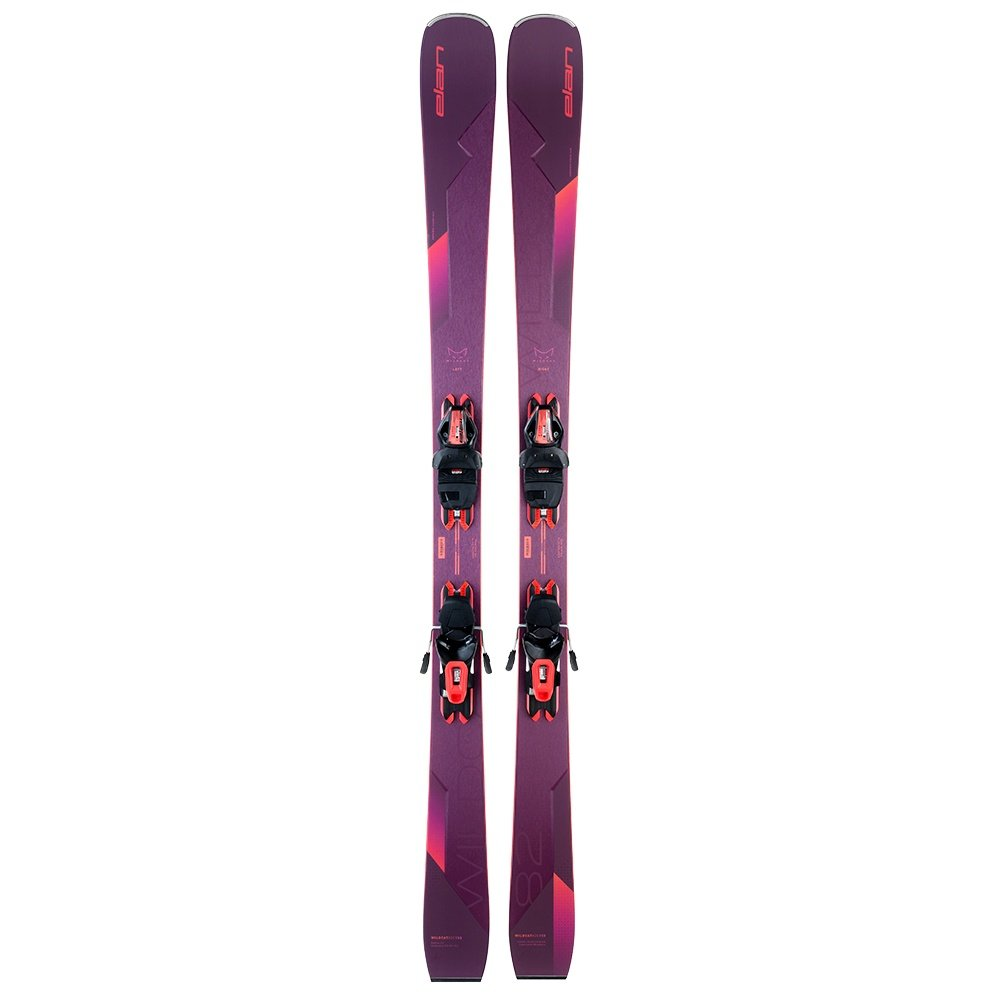 Elan Wildcat 82 C Ski System with ELW 9.0 GW Bindings (Women's) -