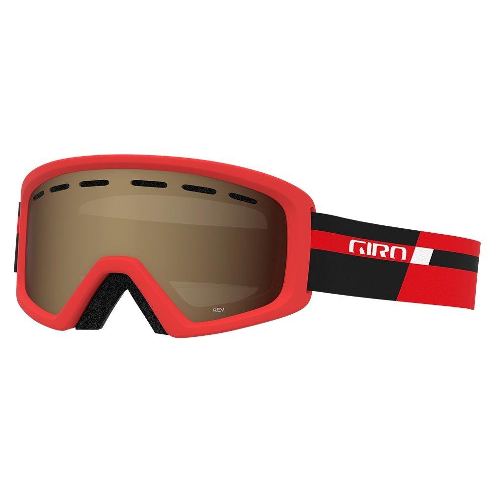 Giro Rev Goggle (Kids') - Black Red Podium