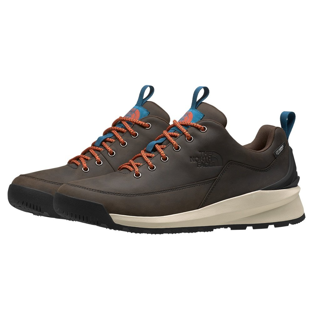 The North Face Back-To-Berkeley Low Waterproof Hiking Shoe (Men's) - Coffee Brown/TNF Black