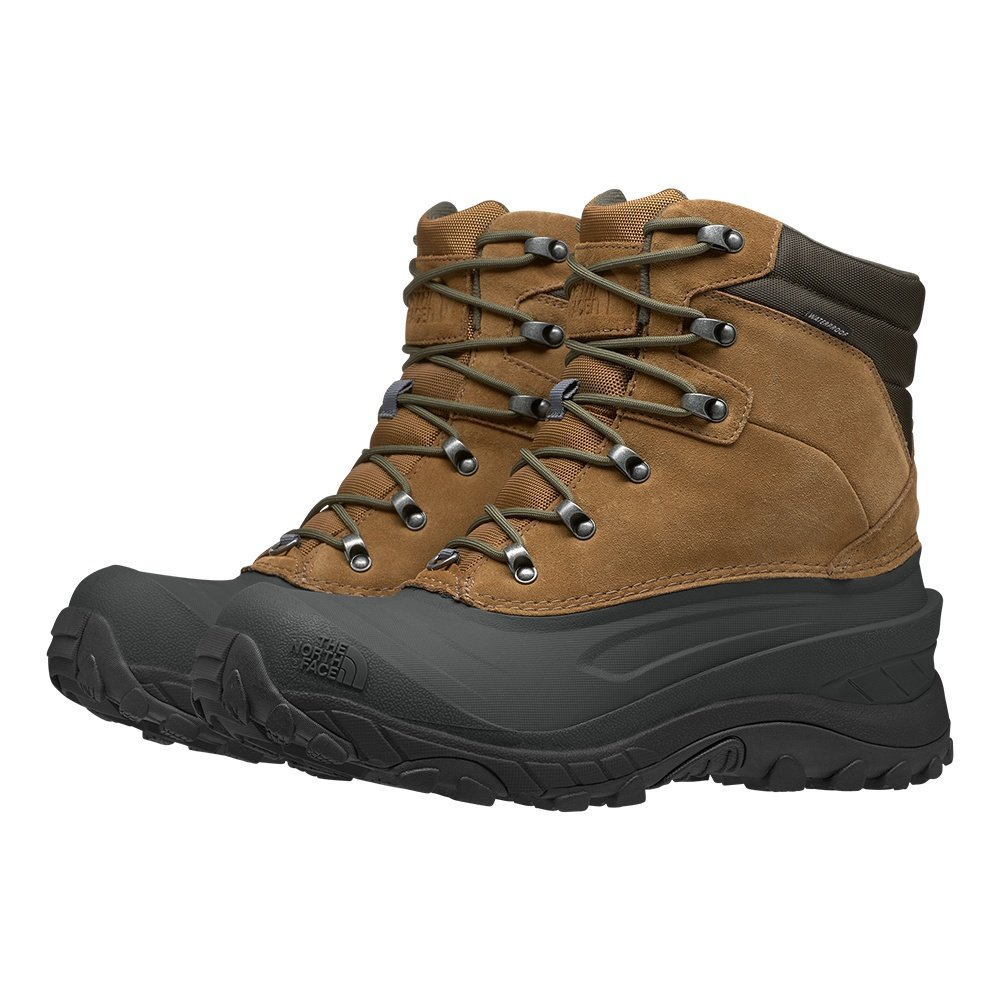North Face Chilkat IV Winter Boot (Men's) - Utility Brown/New Taupe Green