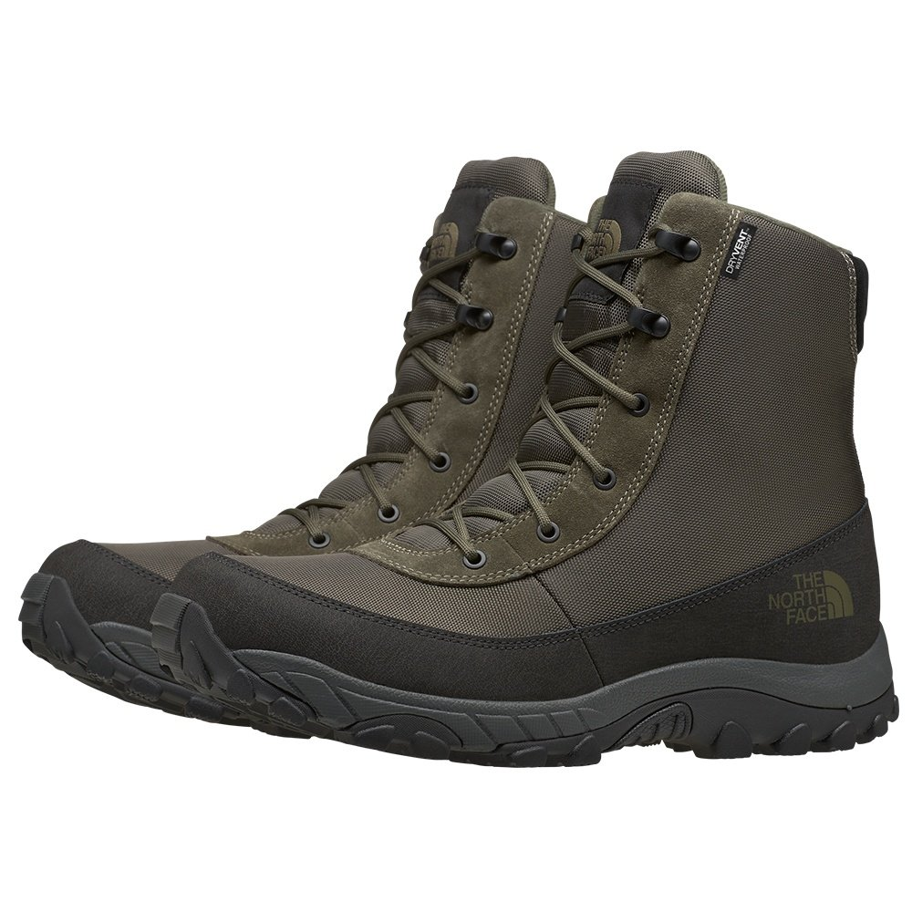 The North Face Chilkat Nylon II Winter Boot (Men's) - New Taupe Green/TNF Black