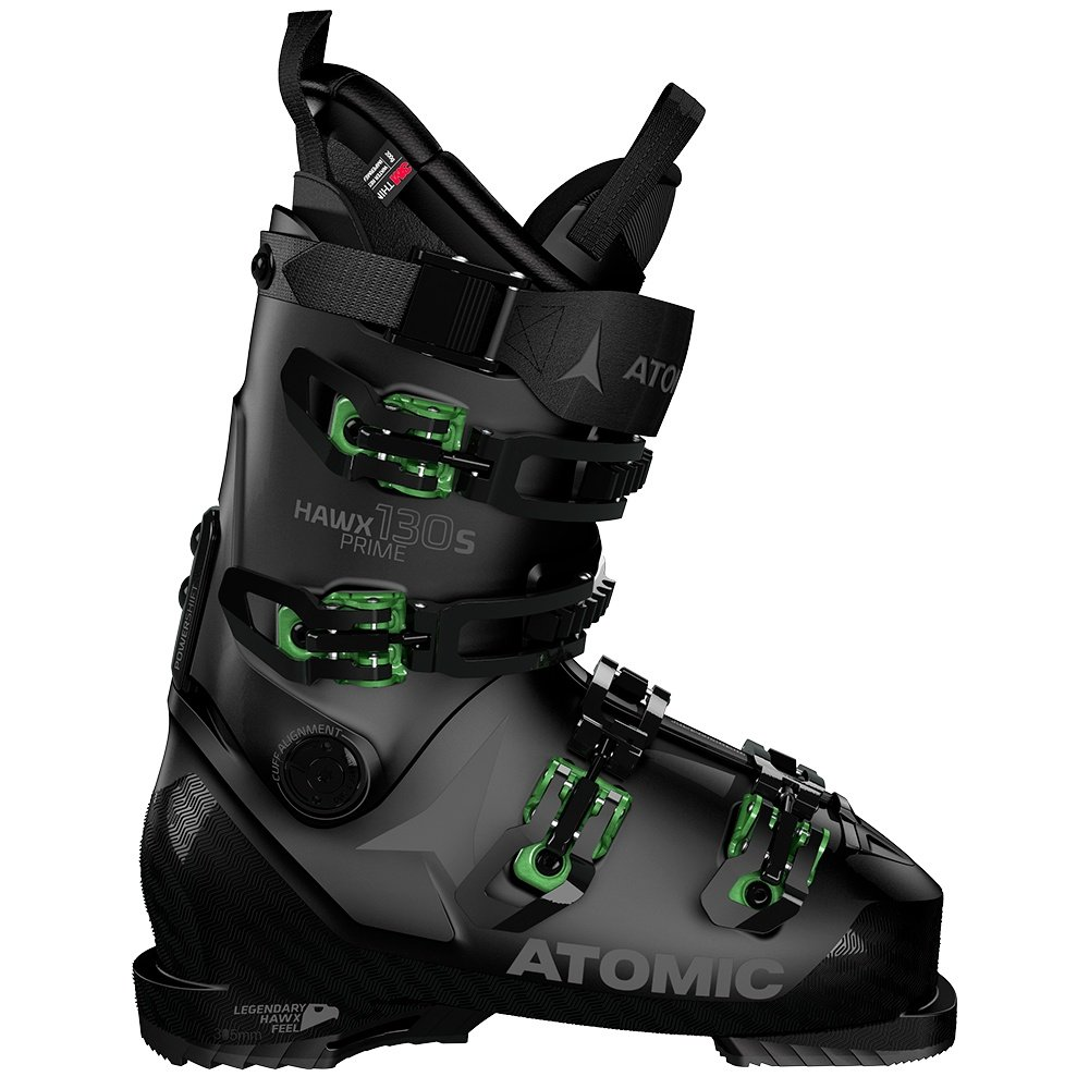 Atomic Hawx Prime 130 S Ski Boot (Men's) - Black/Green