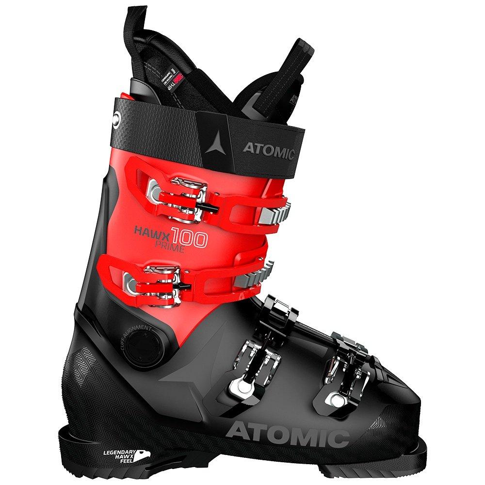 Atomic Hawx Prime 100 Ski Boot (Men's) - Black/Red